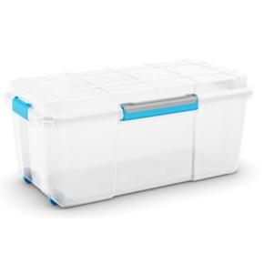 Plastový box KETER Scuba Box L s víkem 80l, bílý