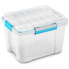 Plastový box KETER Scuba Box M s víkem 45l, bílý