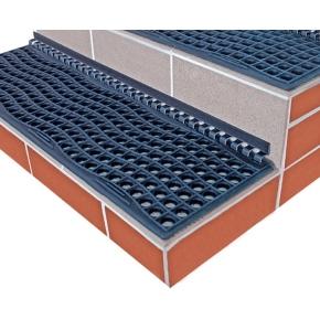 Protiskluzová rohož na schody FROST 105x29x1,5 cm