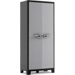 Zahradní plastová skříň KIS TITAN High Cabinet, šedá
