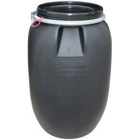 Plastový sud RECODRUM UN s odnímacím víkem 60 l černý