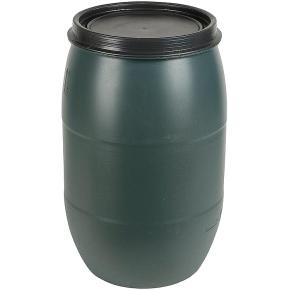 Plastový sud na dešťovou vodu s víkem 120l