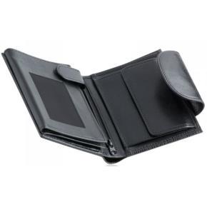 ADK dámská kožená peněženka Rondo černá 643c7a9da36