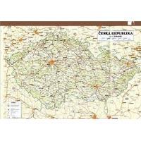 ADK Mapa ČR a Prahy A5