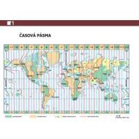 ADK Mapa světa a časová pásma A6