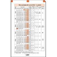 ADK Plánovací kalendář A6 2018