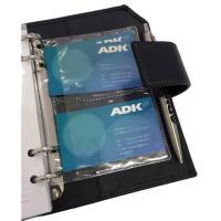 ADK plastový obal na vizitky A6