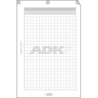 ADK Poznámkový blok A5, lepený-děrovaný