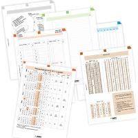 ADK Sada formulářů A4, týdenní plánování 2017
