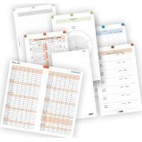 ADK Sada formulářů A5, týdenní plánovaní 2017