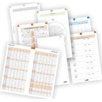 ADK Sada formulářů A5 týdenní plánovaní 2018