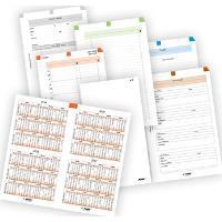 ADK Sada formulářů A6 týdenní plánování 2018