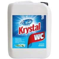 Čistič toalet Krystal WC antibakterialní 5L modrý