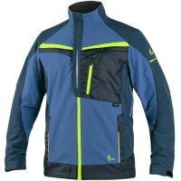 Dámská zimní bunda KENOVA černo-zelená vel. XL