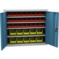 Dílenská skříň s plastovými boxy SPP 01 C