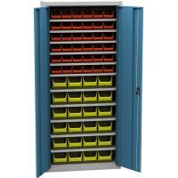 Dílenská skříň s plastovými boxy SPP 03 A