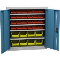 Dílenská skříň s plastovými boxy SPP 03C