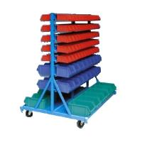 Dílenský vozík na plastové krabičky J31, nosnost 500kg