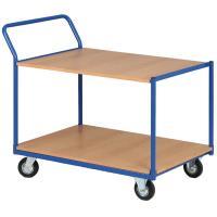 Dvoupolicový vozík o nosnosti 200 kg