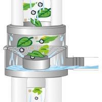 GRAF Sběrač dešťové vody s filtrem hnědý