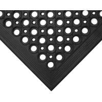Gumová podlahová rohož COBA High-Duty černá 0,9 x 1,5m - olemování 2 dlouhé a 1 krátká strana