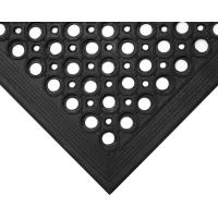 Gumová podlahová rohož COBA High-Duty černá 0,9 x 1,5m - olemování 2 krátké a 1 dlouhá strana
