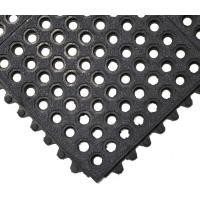 Gumová průmyslová rohož COBA Fatigue-Step Grit Top černá 0,9 m x 0,9 m