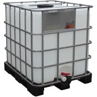 IBC kontejner 1000 l repasovaný na plastové paletě