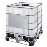 IBC kontejner MAMOR SM13 1000 l, kovo/plastová paleta