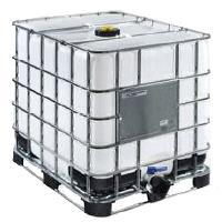 IBC kontejner REKO 1000 L UN - repasovaný, paleta ocel/ocel-plastová