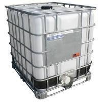 IBC kontejner REPAS 1000 l, kovová paleta DN 80mm