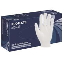Jednorázové rukavice PROTECTS HYGIENIC LATEX vel. 7, 200 ks