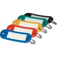 Jmenovky na klíče mix barev, 100ks