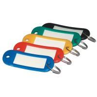 Jmenovky na klíče, mix barev 20ks