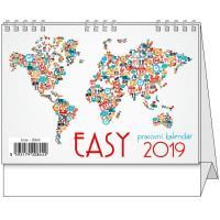 Kalendář stolní Easy 2018