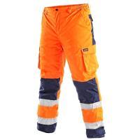 Kalhoty CARDIFF výstražné oranžové, vel. XL