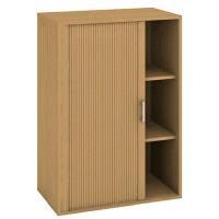 Kancelářská skříň střední D 3 80 07 L - buk