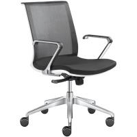 Kancelářská židle LYRA NET 203-F80-N6 na kolečkách