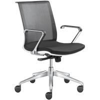 Kancelářská židle LYRA NET na kolečkách