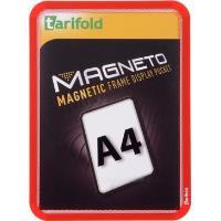 Kapsa Magneto A4 magnetická TARIFOLD červená