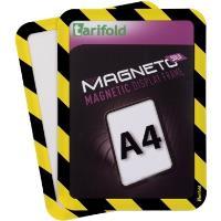 Kapsa Magneto SOLO A4 magnetická TARIFOLD žluto-černá