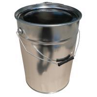 Kbelík plechový EDE s kovovým držadlem a víkem 20 l