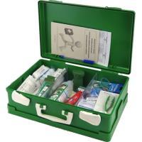 Kufr první pomoci zelený, náplň SKLAD - OBCHOD