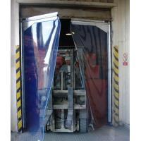 Kyvná vrata těžký provoz, nerez, 2křídla
