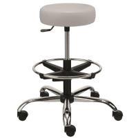 Laboratorní židle ALBA NORA čalouněná