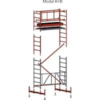 Lehké pracovní hliníkové lešení FAVORIT modul K+B
