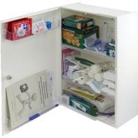 Lékárnička plastová nástěnná + náplň GASTRO