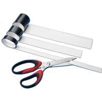 Magnetický pásek 40x600mm bílý