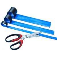 Magnetický pásek 40x600mm modrý