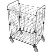 Manipulační vozík pro skladování a třídění prádla BESI 1